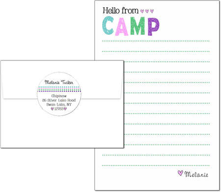 3 Bees - Camp Pad Sets (Distressed Pastel)