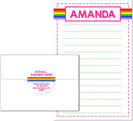 3 Bees - Camp Pad Sets (Rainbow)