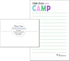 3 Bees - Camp Notepad Sets (Distressed Pastel)