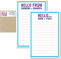 3 Bees - Camp Notepad Sets (Hello From)