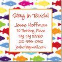 iDesign Keep In Touch Cards - Rainbow Fish (Camp)