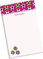 Notepads by idesign + co - Soccer Girls (Normal by idesign + co - Camp)