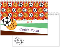 iDesign Memory Books - Basketball & Soccer Balls (Camp)
