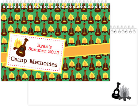 iDesign Memory Books - Campfires & Guitars (Camp) (ID_MB_14)