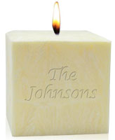 Personalized Candles - Name Or Phrase