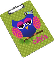 Devora Designs - Clipboards (Allie The Owl)