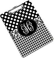 Devora Designs - Clipboards (Black & White - Collage)