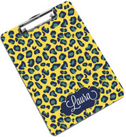 Devora Designs - Clipboards (Cape Cod Poppy - Leopard)