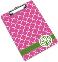 Devora Designs - Clipboards (Clover Raspberry - Grass)
