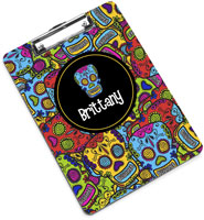 Devora Designs - Clipboards (Comic Sugar Skulls)
