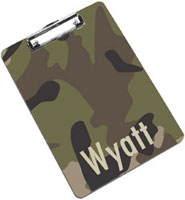 Devora Designs - Clipboards (Camo Fishing)