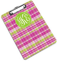 Devora Designs - Clipboards (Pink Plaid)