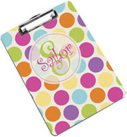 Devora Designs - Clipboards (Polka Dots Brights)