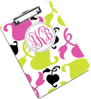 Devora Designs - Clipboards (Spring Pink Lime)
