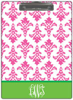 Kelly Hughes Designs - Clipboards (Pink Damask)