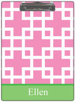 Kelly Hughes Designs - Clipboards (Squared Pink)