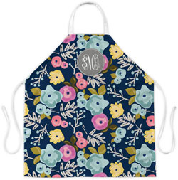 Clairebella Aprons - Bloom Navy