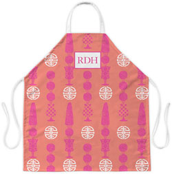 Clairebella Aprons - Topiary Pink