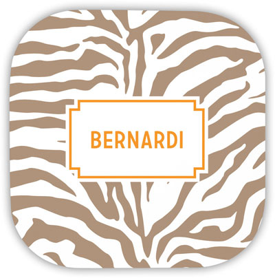 Boatman Geller - Create-Your-Own Hardbacked Coasters (Zebra)