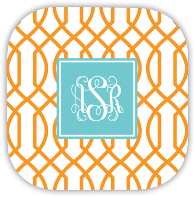 Boatman Geller - Create-Your-Own Hardbacked Coasters (Trellis Reverse)