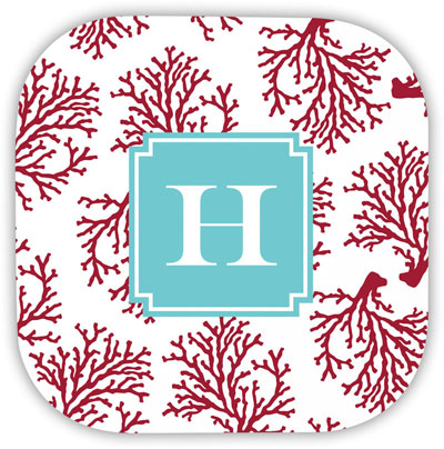 Boatman Geller - Create-Your-Own Hardbacked Coasters (Coral)
