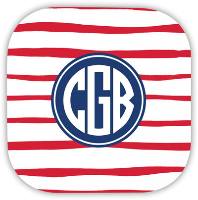 Boatman Geller - Create-Your-Own Hardbacked Coasters (Brush Stripe)
