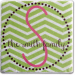 More Than Paper - Tumbled Coasters (Chevron - Marble)