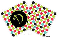 PicMe Prints - Personalized Coasters (Multi Dots)