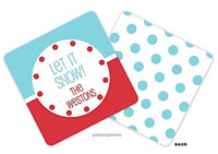 PicMe Prints - Personalized Coasters (Just Like Ice Cream Pool)