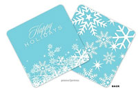 PicMe Prints - Coasters (Snow Flurries Pool Standard)