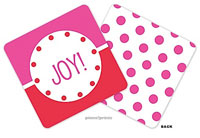 PicMe Prints - Coasters (Just Like Ice Cream Hot Pink Standard)