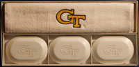 College Soap & Guest Towel Set - Georgia Tech (GT)
