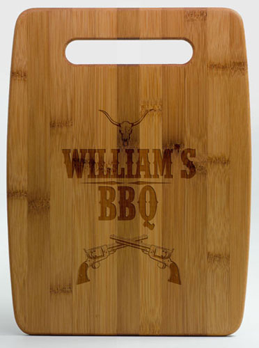 Bamboo Etched Cutting Boards (Large)