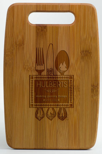 Bamboo Etched Cutting Boards (Medium)