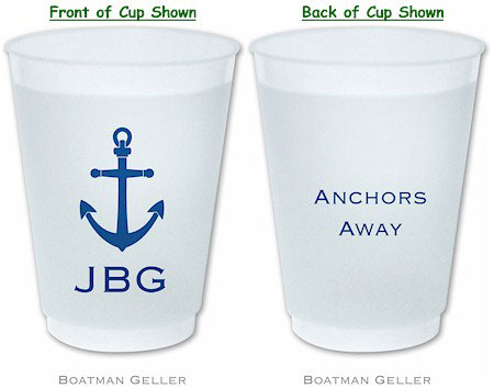 Boatman Geller - Create-Your-Own Personalized Reusable Flexible Cups (With Icon)