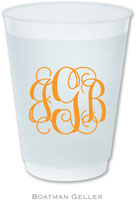 Boatman Geller - Create-Your-Own Personalized Reusable Flexible Cups (Without Icon)