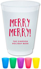The Boatman Group - Reusable Flexible Cups (Merry Merry)