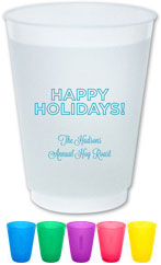 The Boatman Group - Reusable Flexible Cups (Holidays Outlined)