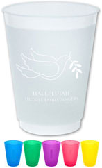 The Boatman Group - Reusable Flexible Cups (Peace Dove)