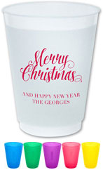 The Boatman Group - Reusable Flexible Cups (Scripty Christmas)