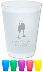 The Boatman Group - Reusable Flexible Cups (Champagne Toast)