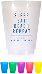 Resuable Cups by Dabney Lee (Sleep Eat Beach)