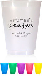 Holiday Resuable Cups by Chatsworth (Toast The Season)