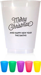 Holiday Resuable Cups by Boatman Geller (Selfie Christmas)
