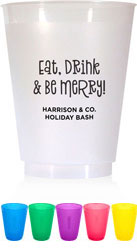Holiday Resuable Cups by Boatman Geller (Be Merry)