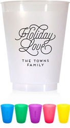 Holiday Resuable Cups by Dabney Lee (Holiday Love)