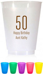 Resuable Cups by Chatsworth (Birthday Year)