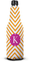 Dabney Lee Personalized Bottle Koozies - Chevron