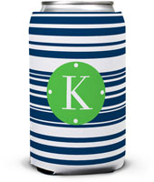 Dabney Lee Personalized Can Koozies - Block Island