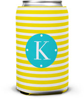 Dabney Lee Personalized Can Koozies - Cabana